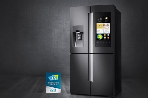 A Samsung Smart Refrigerator
