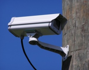 A representative CCTV camera that could potentially be taken over by a botnet