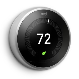 A nest thermostat.